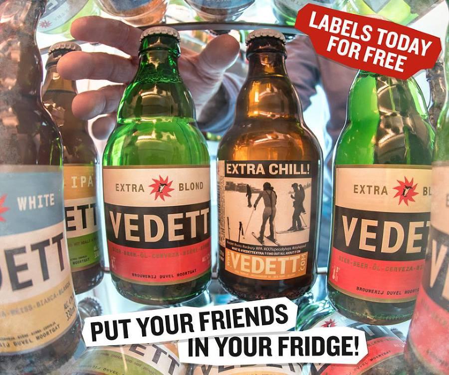 Social media campaign for Vedett.