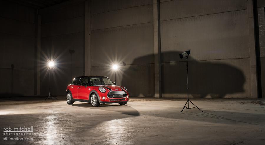 MINI Cooper 5 doors photoshoot