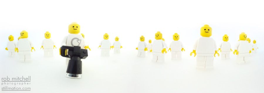 Sstillmation Lego Minifig 360